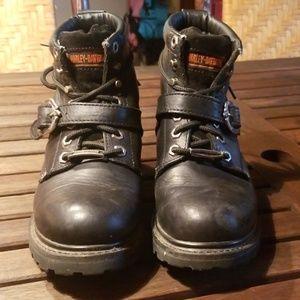Harley-Davidson womens black boots 8.5